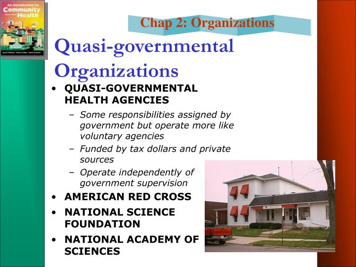 Quasi-governmental Organizations