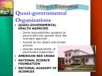 quasi governmental organizations