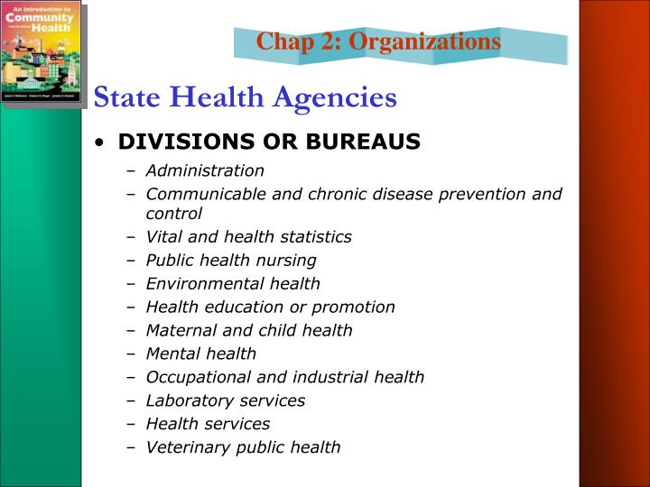 State Health Agencies