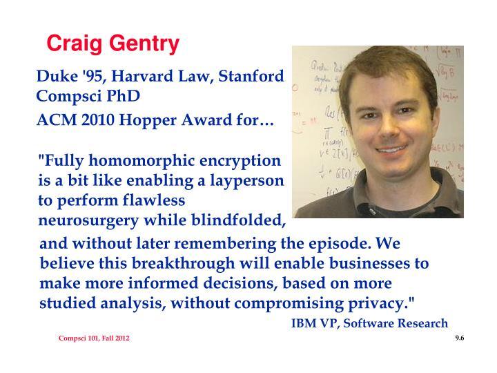Craig Gentry