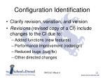configuration identification1