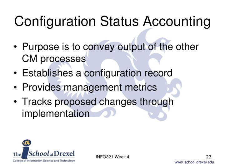 Configuration Status Accounting