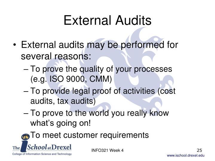 External Audits