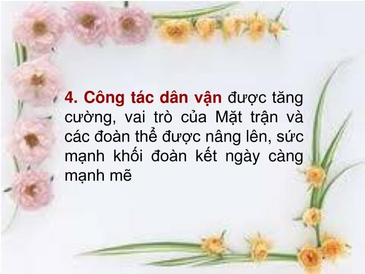 4. Cng tc dn vn