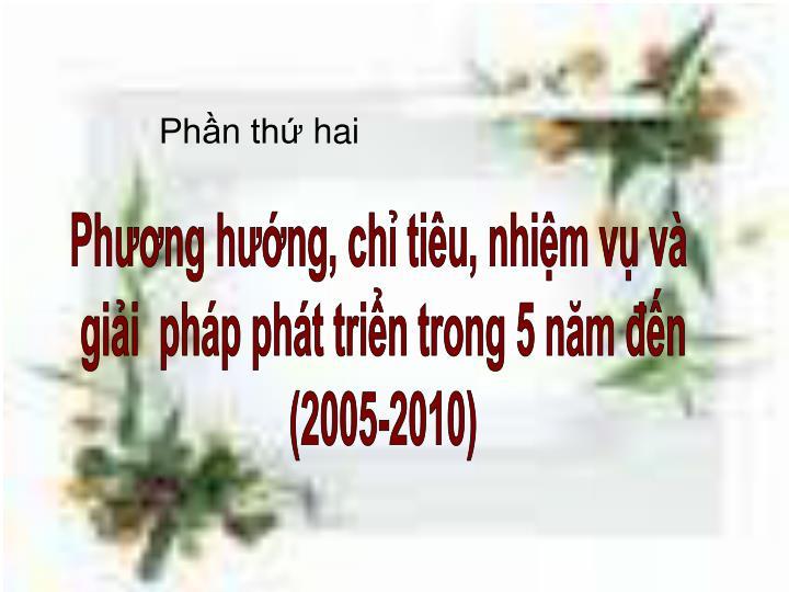 Phn th hai