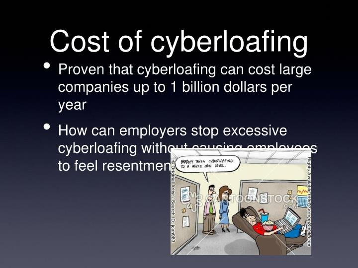Cost of cyberloafing