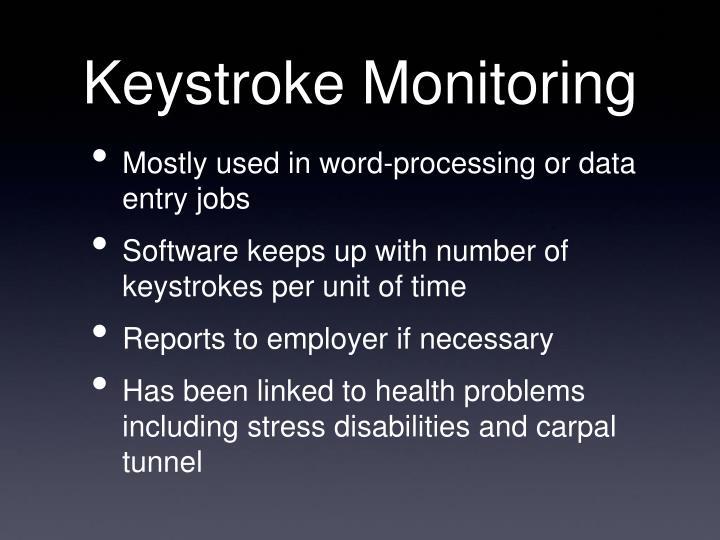 Keystroke Monitoring