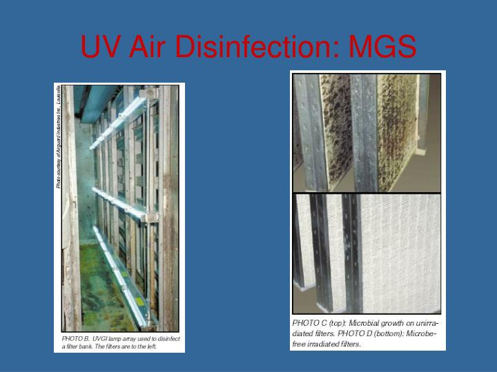 UV Air Disinfection: MGS