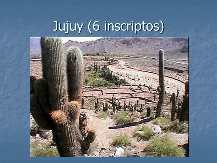 Jujuy (6 inscriptos)