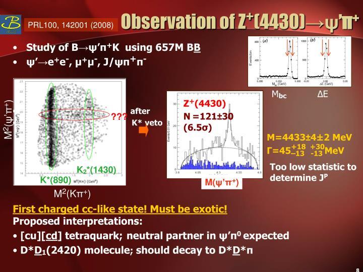 Observation of Z