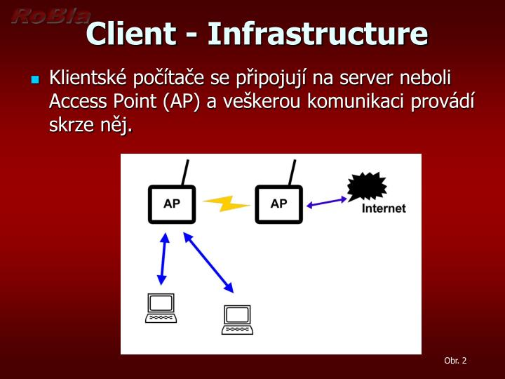 Client infrastructure