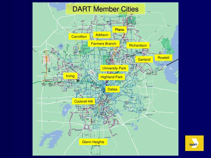 DART Member Cities