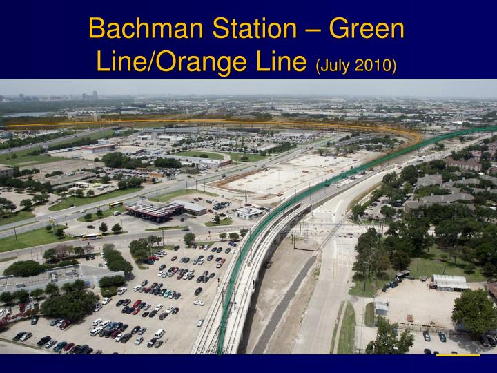 Bachman Station – Green Line/Orange Line