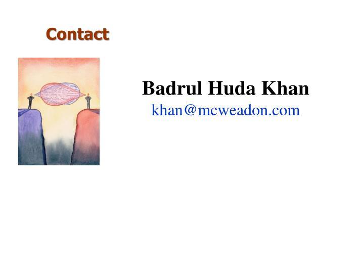 Badrul Huda Khan
