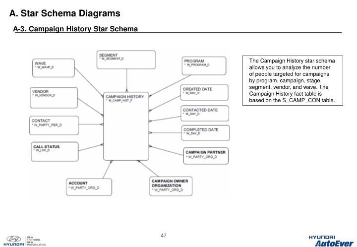 A. Star Schema Diagrams