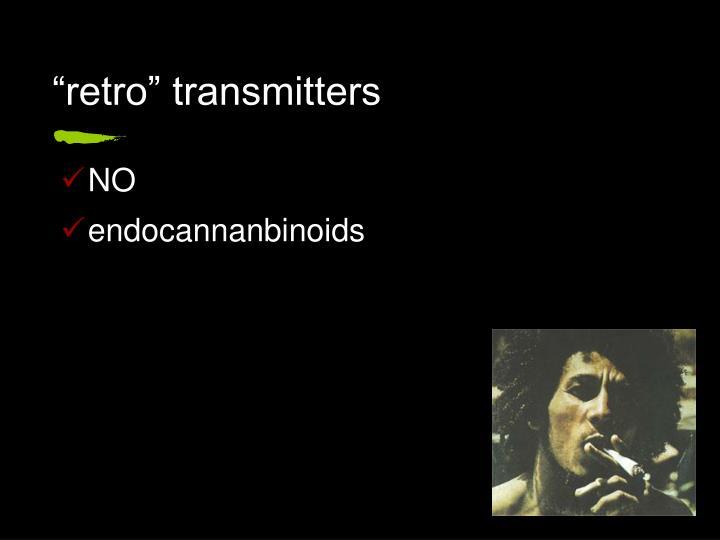 """retro"" transmitters"