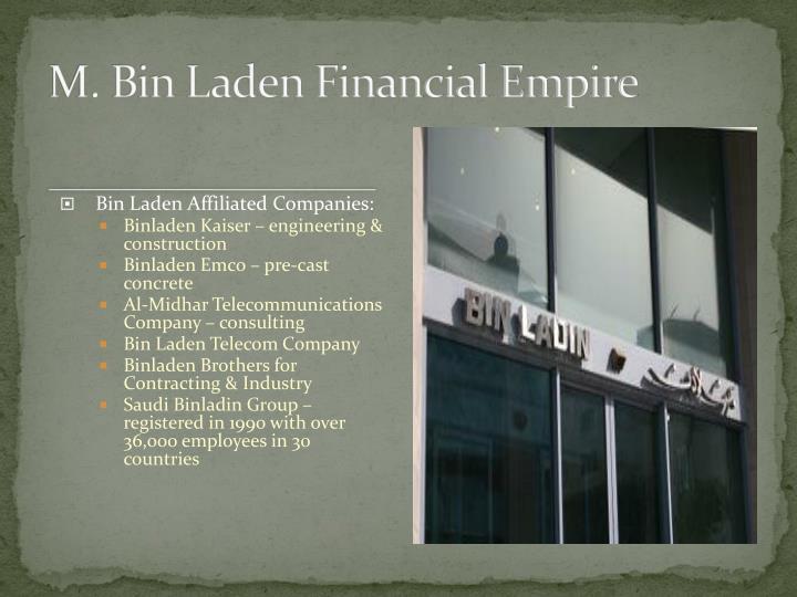 M. Bin Laden Financial Empire