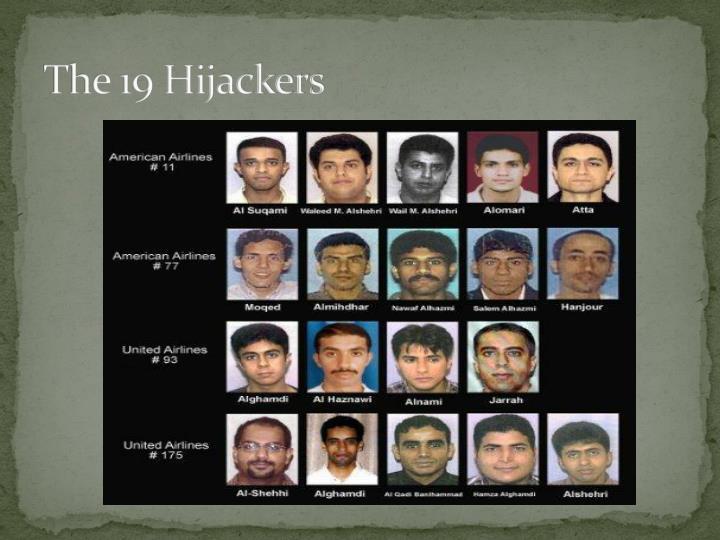 The 19 Hijackers