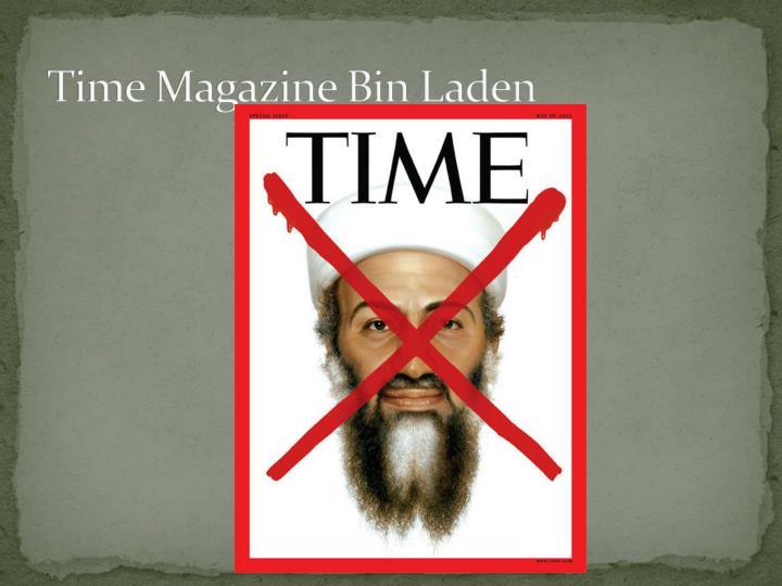 Time Magazine Bin Laden