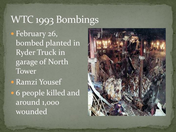 WTC 1993 Bombings