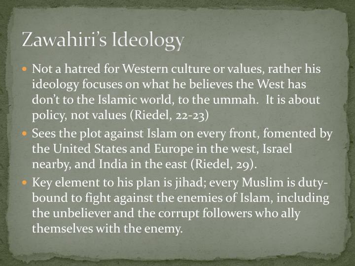 Zawahiri's Ideology
