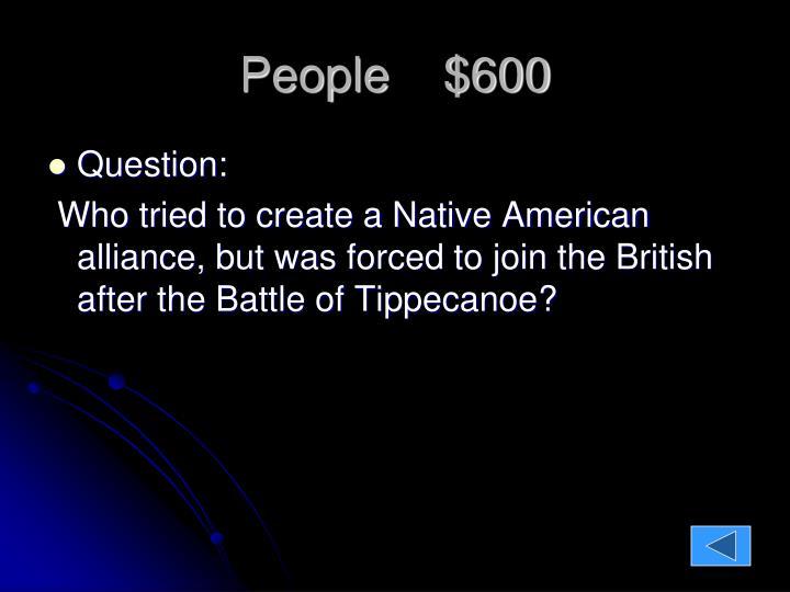 People    $600