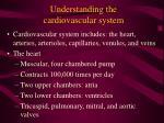 understanding the cardiovascular system