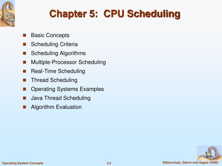 Chapter 5 cpu scheduling1