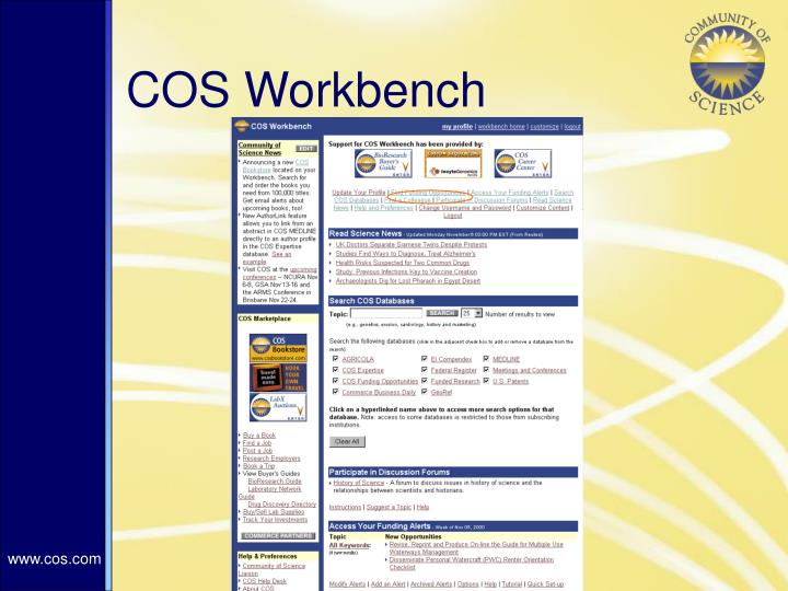 COS Workbench