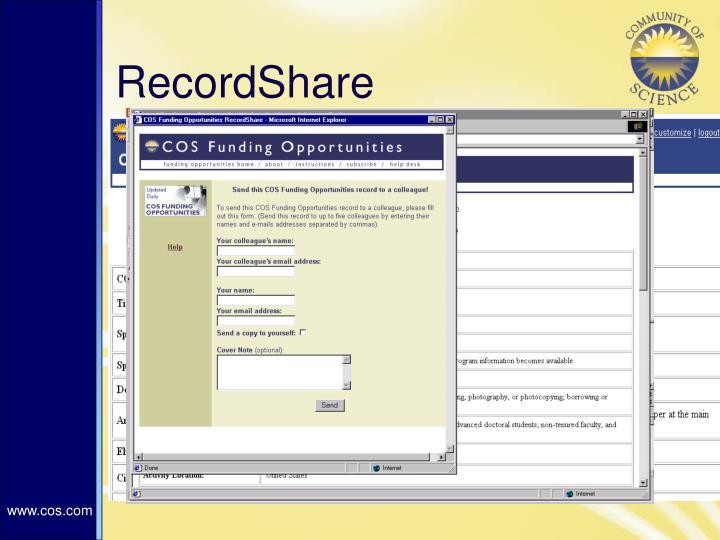 RecordShare