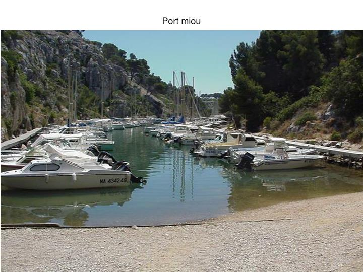 Port miou