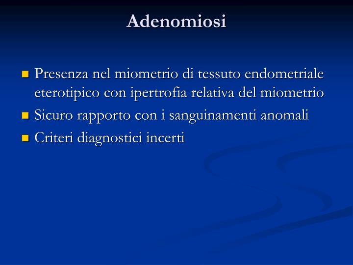 Adenomiosi