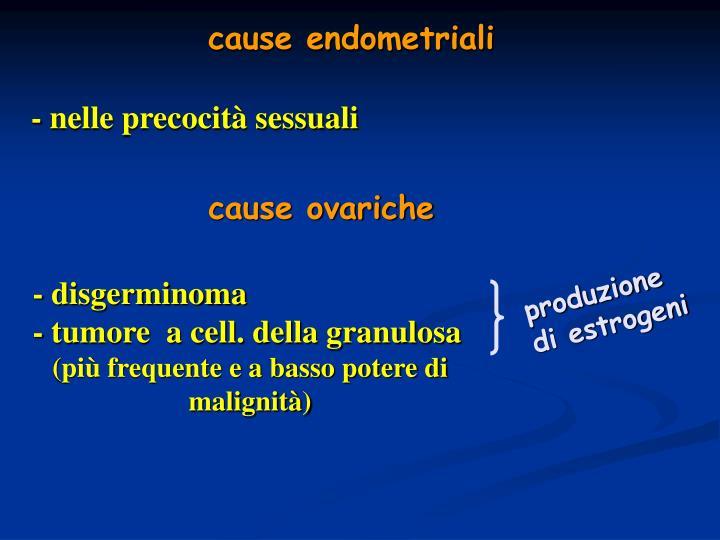cause endometriali