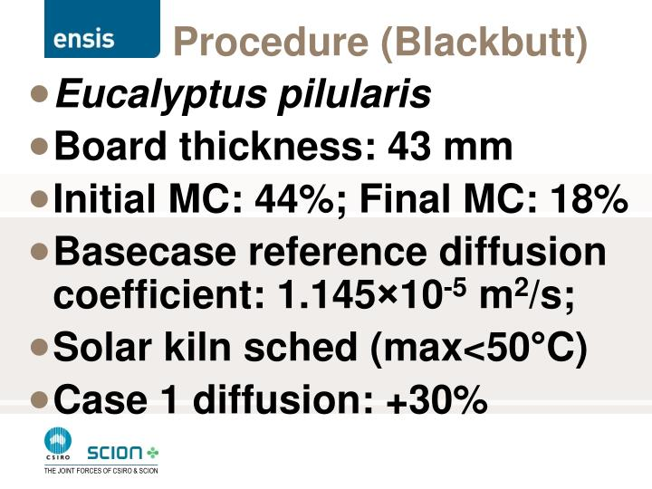Procedure (Blackbutt)