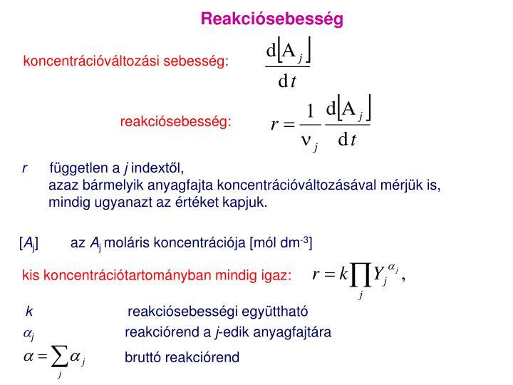 Reakciósebesség