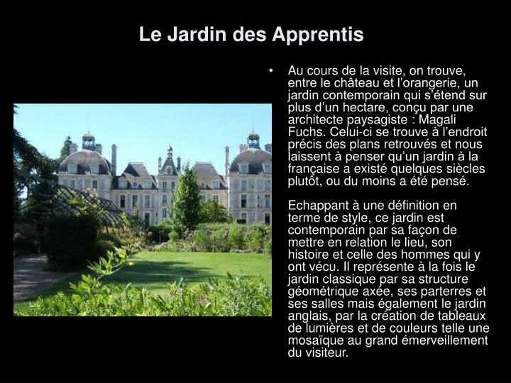 Ppt le ch teau de cheverny powerpoint presentation id for Jardin anglais definition
