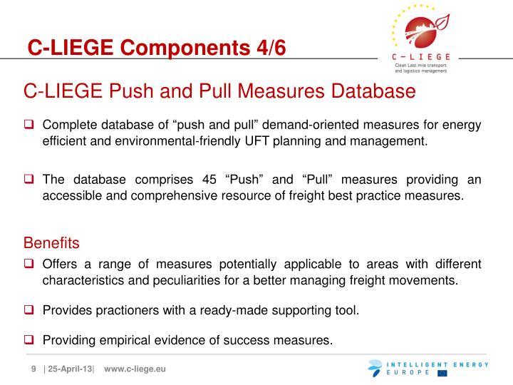 C-LIEGE Components 4/6