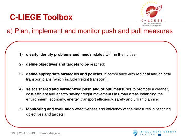 C-LIEGE Toolbox