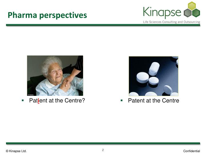 Pharma perspectives