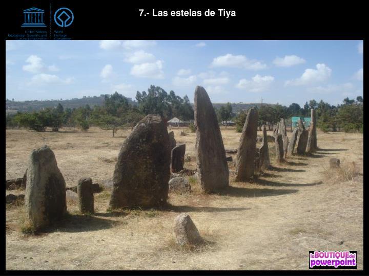7.- Las estelas de Tiya
