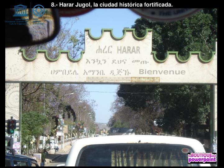 8.- Harar Jugol, la ciudad histórica fortificada.