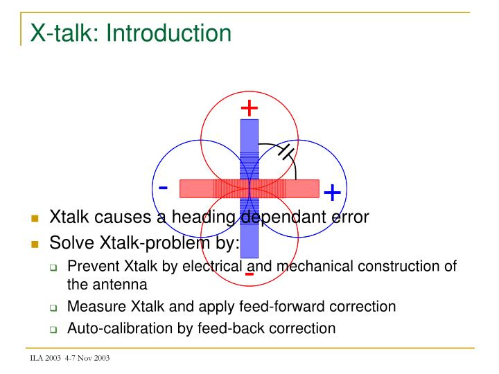 X-talk: Introduction