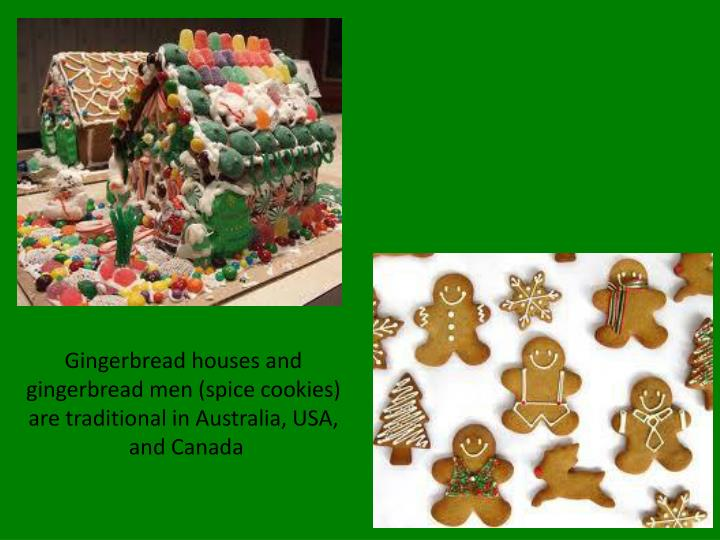 Gingerbread houses and