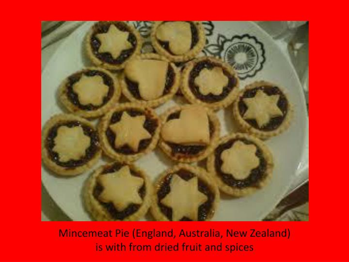 Mincemeat Pie (England, Australia, New Zealand)