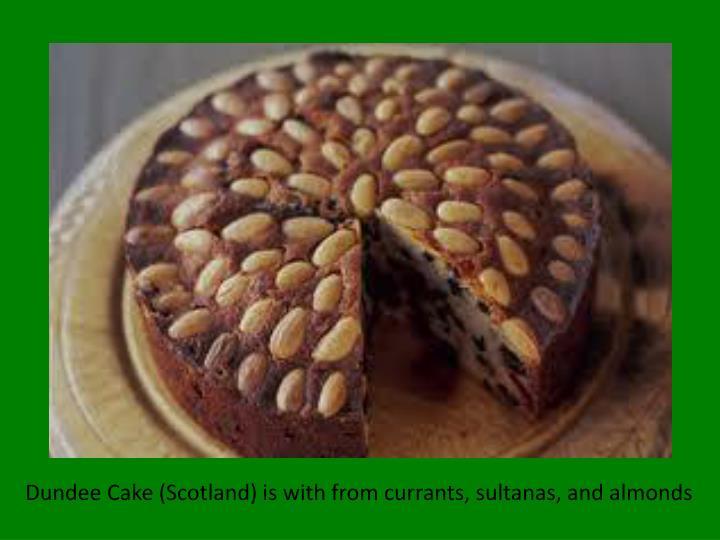 Dundee Cake : Scotland