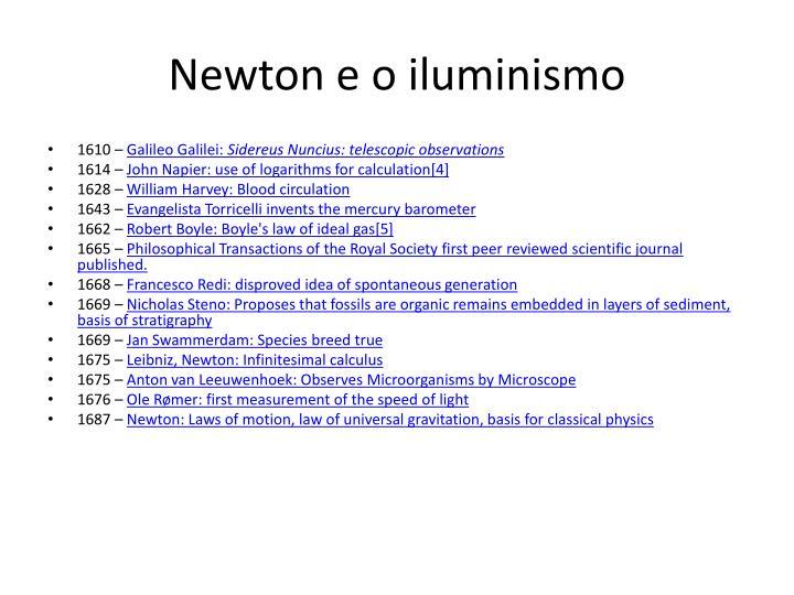 Newton e o