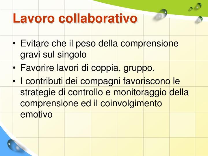 Lavoro collaborativo