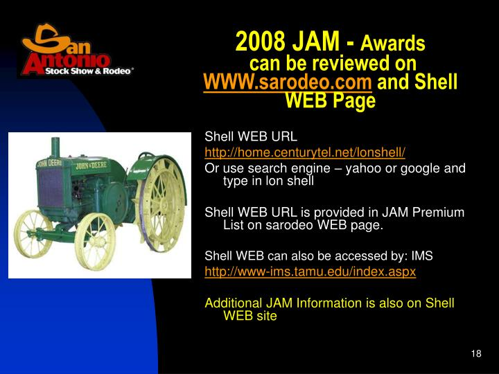 2008 JAM -