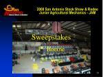 2008 san antonio stock show rodeo junior agricultural mechanics jam4