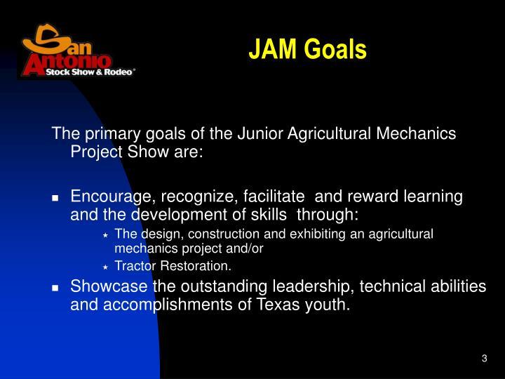 JAM Goals